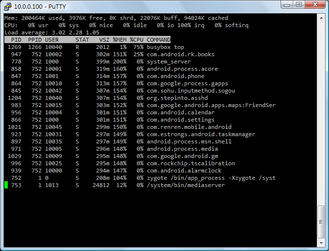 Android SSH Server